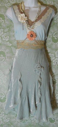 Love the velvet skirt.