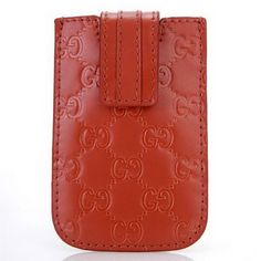 Gucci iphone Case 210188 Embossed Leather Red [dl9939] - $84.49 : Gucci Outlet, Cheap Gucci online,Gucci UK