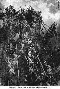 Siege of Antioch 1098 | 300px-Siege_of_Antioch_(1098).jpg