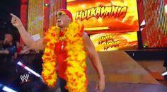 Hulk Hogan makes a massive comeback to WWE's Monday Night Raw.