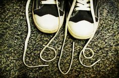 This will be for grandparents day this year...putting all my boys shoelaces and spelling out their names! :)