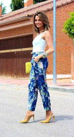 Look: Patterned pants / Pantalones estampados - Ohmylooks - Trendtation