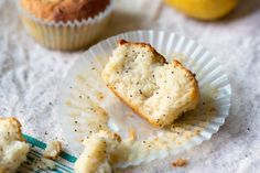 Lemon Poppy Seed Muffins #paleo #grainfree #dairyfree