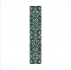 Lacy Teal Bracelet - Loom Bead Pattern