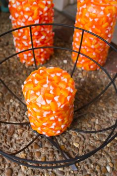 No need to feel guilty about indulging in this display of candy corn.