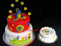 The Backyardigans First birthday by Cakes with L.O.V.E.