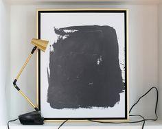Black Splotch Abstra