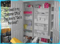 Mary Kay Office Organization