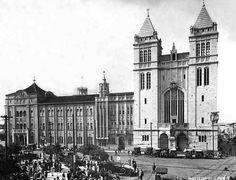 Mosteiro de São Bento I 1910-1922 - São Paulo, SP - Brasil, tirada em 1927