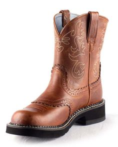 Ariat Women's Fatbaby Saddle Boot
