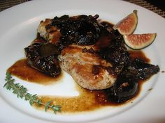 Pork Chops in Balsamic Fig Sauce by Kevin - Closet Cooking, via Flickr