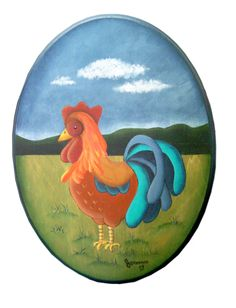 Peinture sur bois acrylique on pinterest one stroke for Peintre sur bois