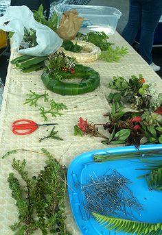 How-to-make Hawaiian Wreaths