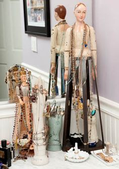 "I love ""displaying"" jewelry as your storage & decoration"