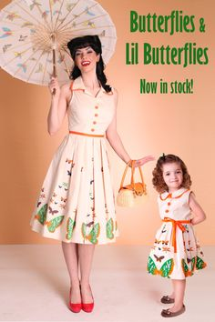Nothing is cuter than matching sundresses from Bettie Page!