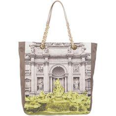 MOSCHINO Chic Printed Tote Bag