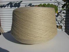 Machine Knitting Yarn Sand Acrylic Cone Yarn by stephaniesyarn, $10.00
