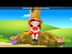 Little Miss Muffet - Nursery Rhyme with Lyrics