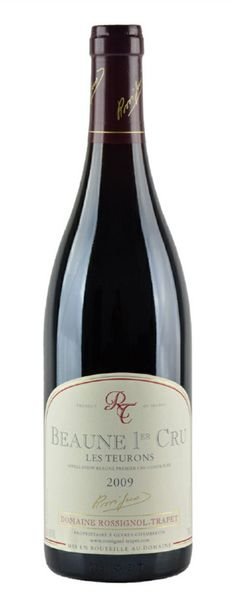 All Vintages of this wine  2009 Available sizes  750ML Food pairing  Cheese Fish Game Meat Hearty Stews Lamb Pork Poultry Shellfish Veal 2009 Rossignol Trapet, Domaine Beaune Teurons