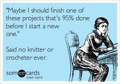 Knitting & Crochet is for ADDer's-keeps our hands occupied, and our minds focused-try it!