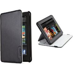 Incipio Kickstand Lightweight Standing Case Cover for Kindle Fire, Black. -- 25% DISCOUNT for a limited time!--- http://www.pinterest.com.tocool.in/s7