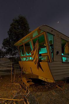 Vintage Camper - I love the windows