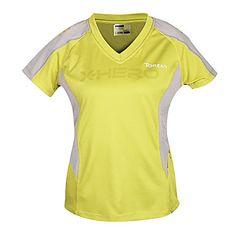 Women's Yellow Short-Sleeved T-shirt – US$ 41.99