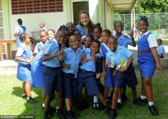 This student expanded her global perspective by traveling to Barbados to study abroad.