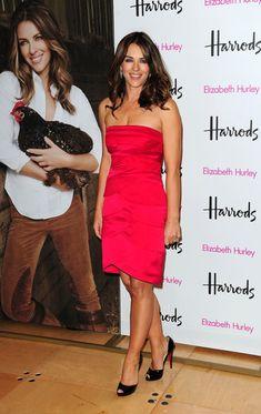 Elizabeth Hurley Medium Curls