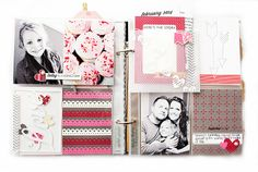 February 2014 Scrapbook Layout by Danielle Flanders for Papertrey Ink (March 2014)