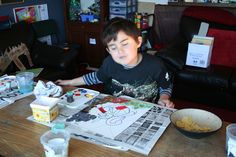 Be a Cubist for 3 days! A mini art workshop for 3 boys