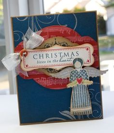 Christmas card by Lisa Johnson for Papertrey Ink (September 2011).