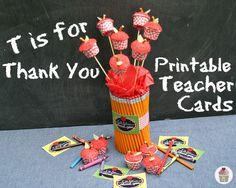 Printables for Teacher Day #FLVS #printables #teachers