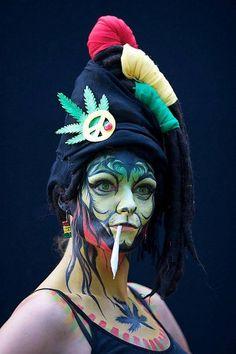 Carnaval de arte corporal de Australia