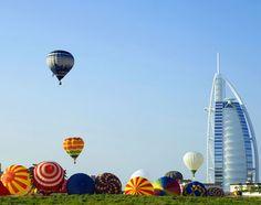 Take a hot air balloon ride in Dubai #JetsetterCurator