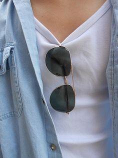 Sunglasses. Aviators