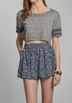 Kendell Cropped Top