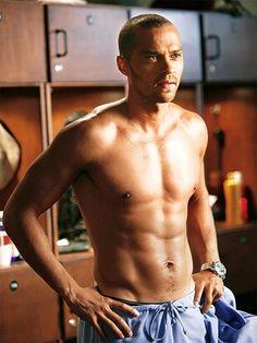 Jesse Williams (Dr. Jackson Avery from Grey's Anatomy)