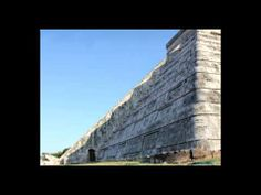 """Chichen Itza, Spring Equinox, 2011-03-20.  (Credit: Passagetoroma) The video shows the """"descent of Kukulkan/Quetzalcoatl on the steps of the pyramid of El Castillo in Chichen Itza. What makes it rare is that all seven diamonds appear and no clouds interrupt the transition."""" Mona Evans, """"Vernal Equinox"""" http://www.bellaonline.com/articles/art182925.asp"""
