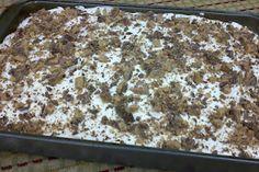 Gooey Heath Bar Cake (a.k.a. Tom Selleck Cake)