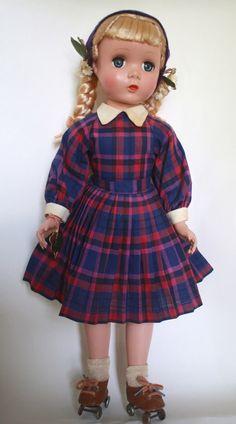 Madame Alexander Platinum Blond Polly Pigtails 3 Day Listing | eBay