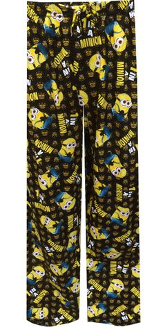 Despicable Me 2 One in a Minion Lounge Pants Aren't the Minions adorable? There are tons of the little guys with funny expressi...