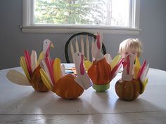 Cute Thanksgiving craft.