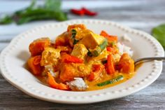 pumpkin or squash curry...the best!