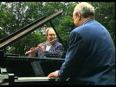 Bolling Suite for Flute and Jazz Piano. Jena-Pierre Rampal and Claude Bolling. I love this music so much!