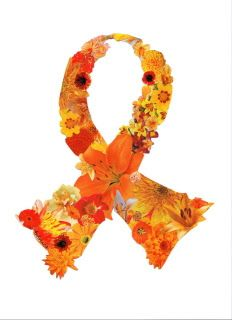 Multiple Sclerosis orange ribbon - Bing Images