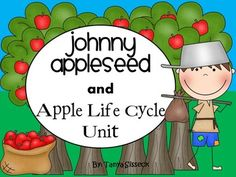 Looking for the perfect Kindergarten unit!?! Introduce your students to an amazing American Folk Hero like Johnny Appleseed while also discussing how apples evolve and grow! This product is a great September thematic unit. The unit includes social studies, science, math and literacy. The product is great for early learners just beginning their journey in education.
