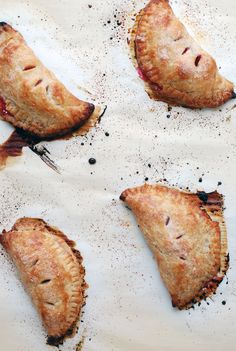 sour cherry hand pies More