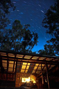Grimwade Shelter on the Bibbulmun Track, Western Australia.