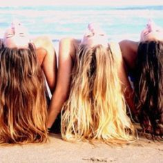 Friends on the beach. <3